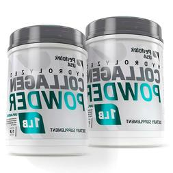 ▶ 2 Pack Collagen Peptides Hydrolyzed Anti-Aging Grass Fed
