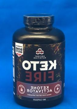 AUTHENTIC ~ Ancient Nutrition🏃Keto Fire🧠CAFFEINATED☕