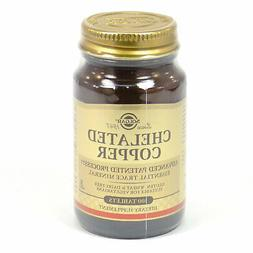 Solgar Chelated Copper  - 100 Tablets