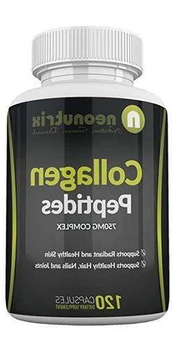 Neonutrix Collagen Peptides Pills - Anti-Aging Dietary Suppl