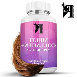 Collagen Peptides Pills Hydrolyzed Premium Anti-Aging Types