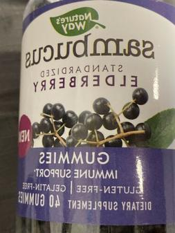 Nature's Way Sambucus Elderberry Gummies, Herbal Supplements