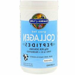 Garden of Life Grass Fed Collagen Peptides for Hair Skin Nai