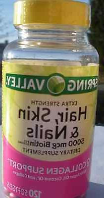 Spring Valley - Hair, Skin & Nails - Dietary Supplement 120