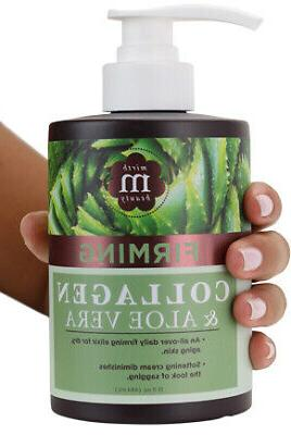 Mirth Beauty Collagen Cream Cream for Face and Body. Collage