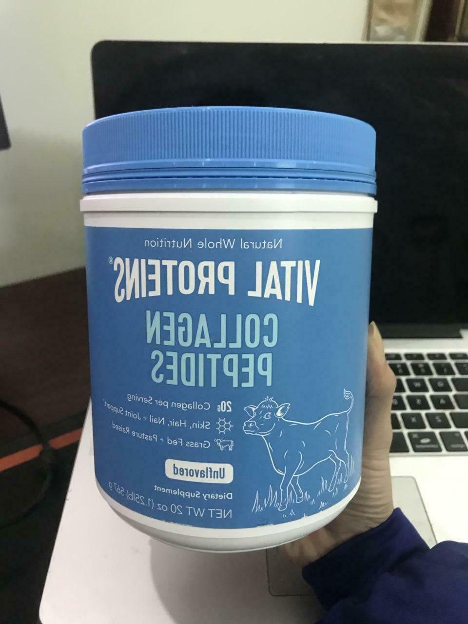 Vital Proteins, collagen Unflavored, 20 Fast Delivery