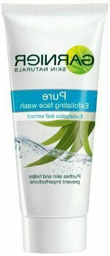 PURE EXFOLIATING FACE WASH WITH EUCALYPTUS LEAF EXTRACT  BY