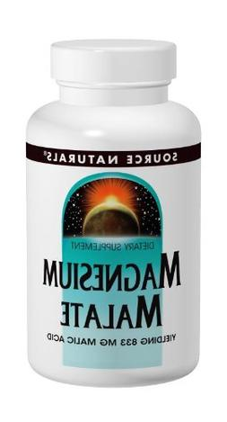 Magnesium Malate 1250 mg 100 Caps by Source Naturals
