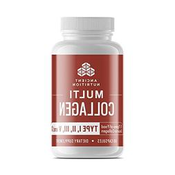 Ancient Nutrition Multi Collagen, 90 Capsules - High-Quality
