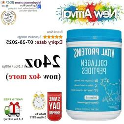 NEW Vital Proteins Collagen Peptides Unflavored 24oz Best By