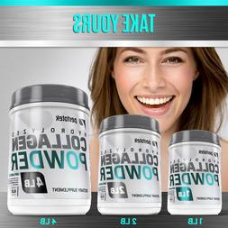 Premium Collagen Peptides Hydrolyzed Anti-Aging Protein Powd