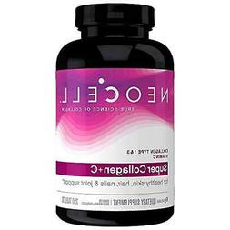 NeoCell Super Collagen + C - 6,000mg Collagen Types 1 & 3 Pl